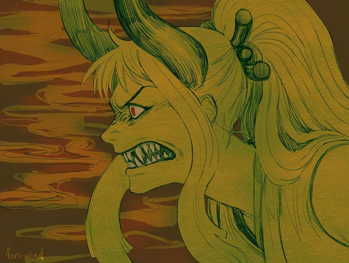 海賊王:大和是貓貓果實能力者,形態是白虎,和凱多同屬天之四靈
