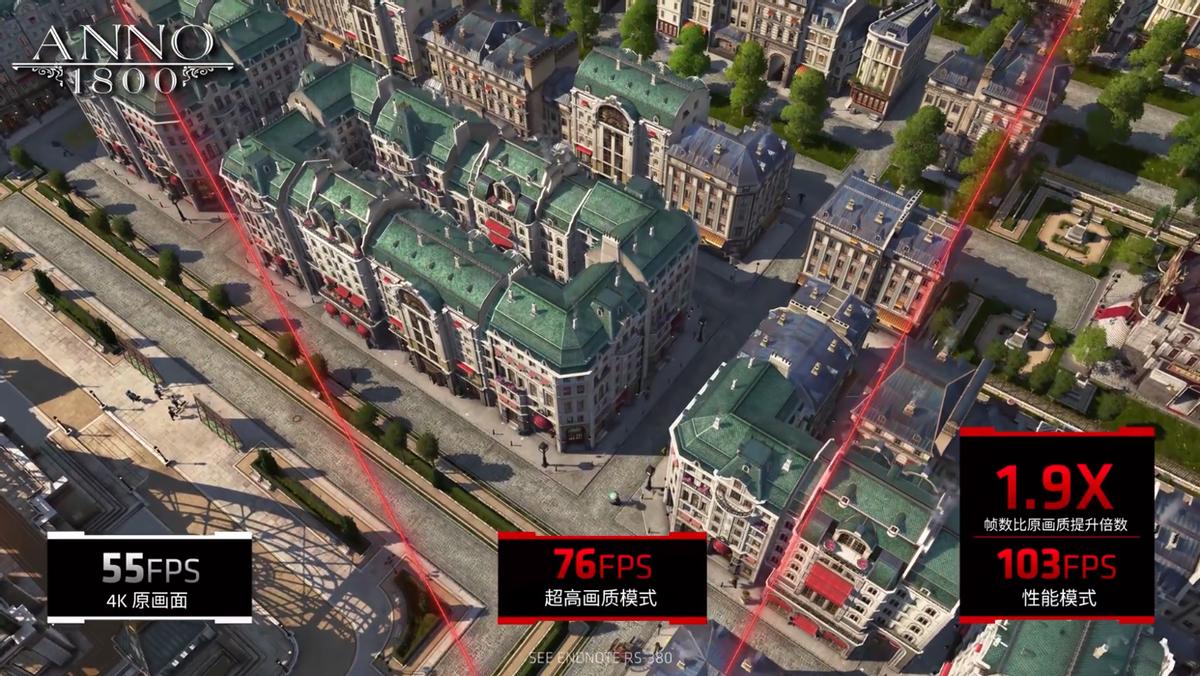 帧率提升最高 1.9 倍!AMD FSR技术效果揭秘