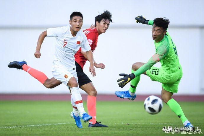 艾克森国家队首秀!国足7-0狂胜恒大豫备队,武磊回归打入首球:艾克森国足首球