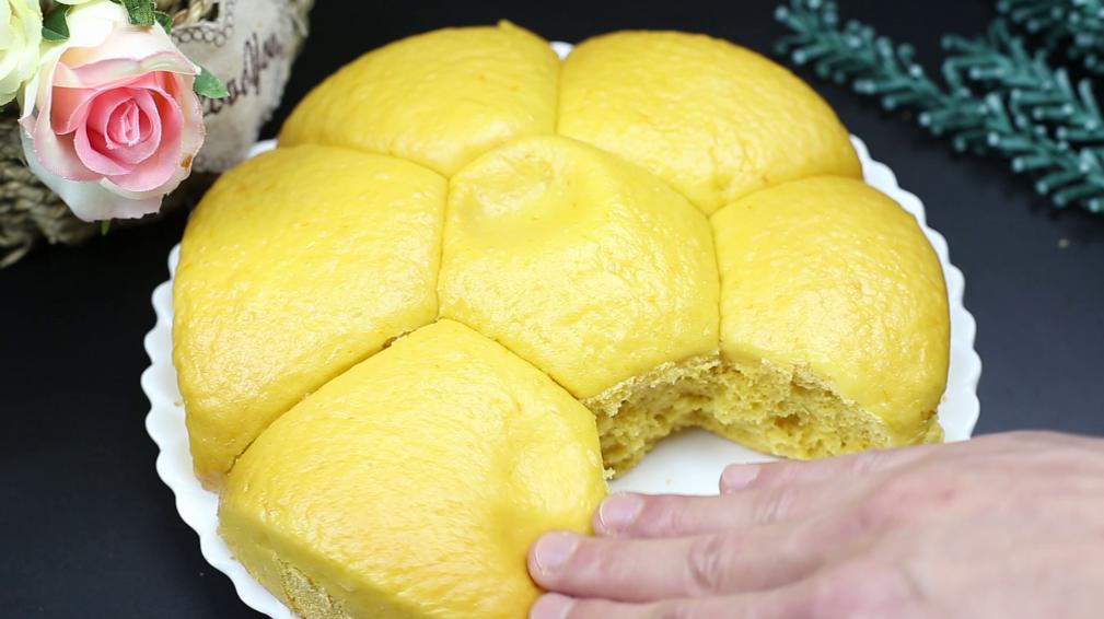 南瓜馒头超好吃的做法 个个松软香甜