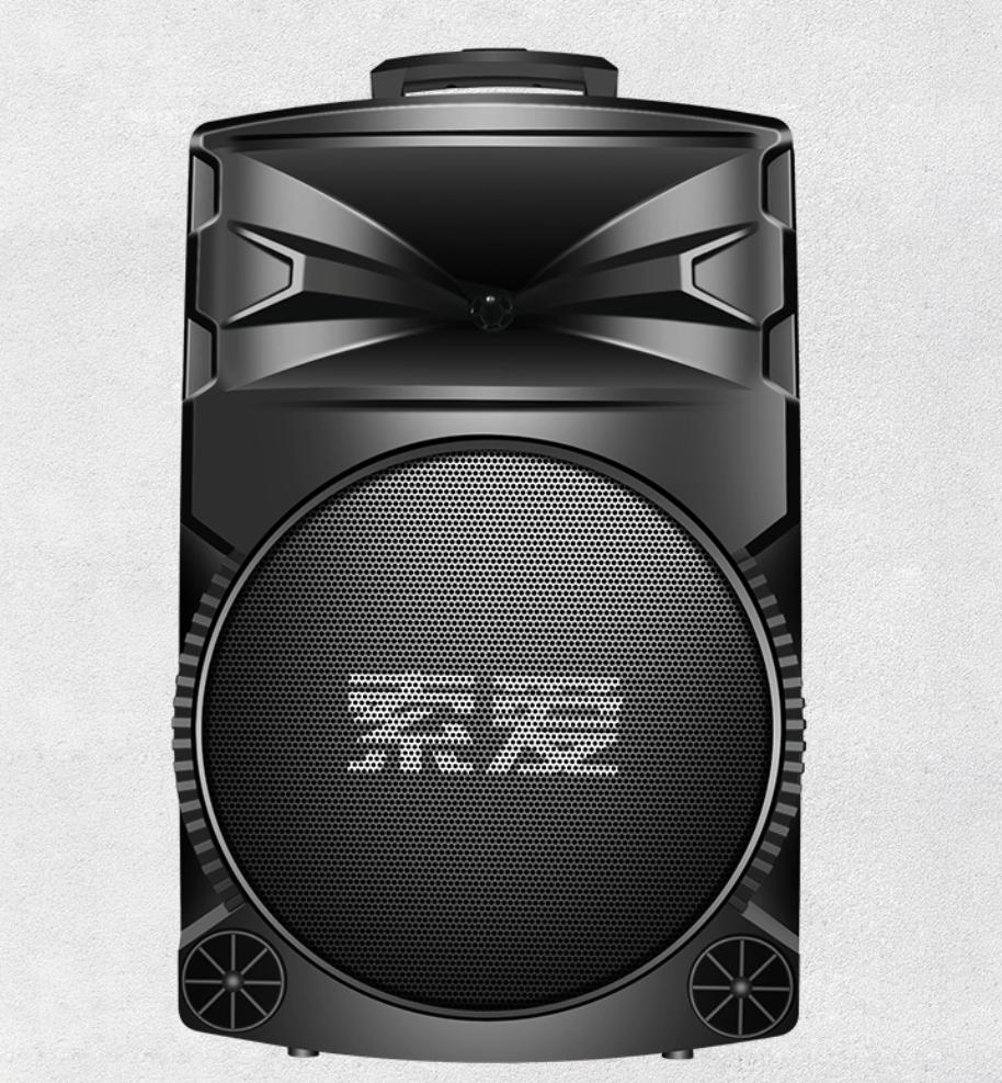 索爱A89拉杆音箱,姐姐们都喜欢的广场舞户外便携式音箱