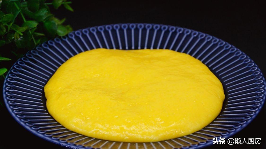 雞蛋和澱粉一起炒,不粘勺子,不粘盤子,吃起來軟糯香甜