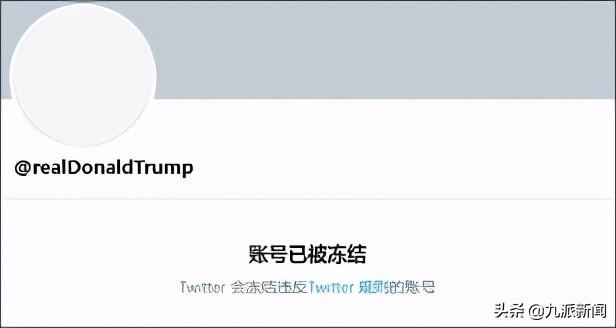 特朗普离开Twitter百天 网友:非常挂念他