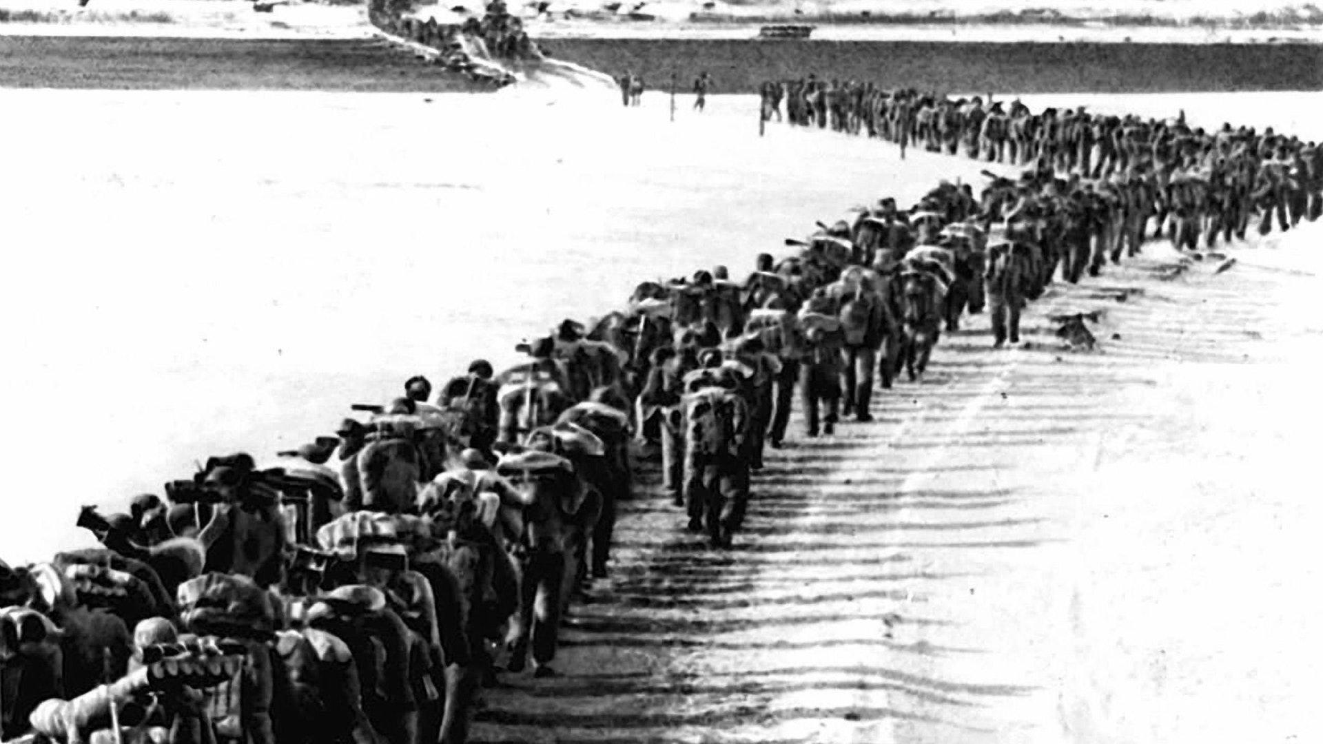 英雄回家了!这让我们不由的忆起了70年前的那场立国之战