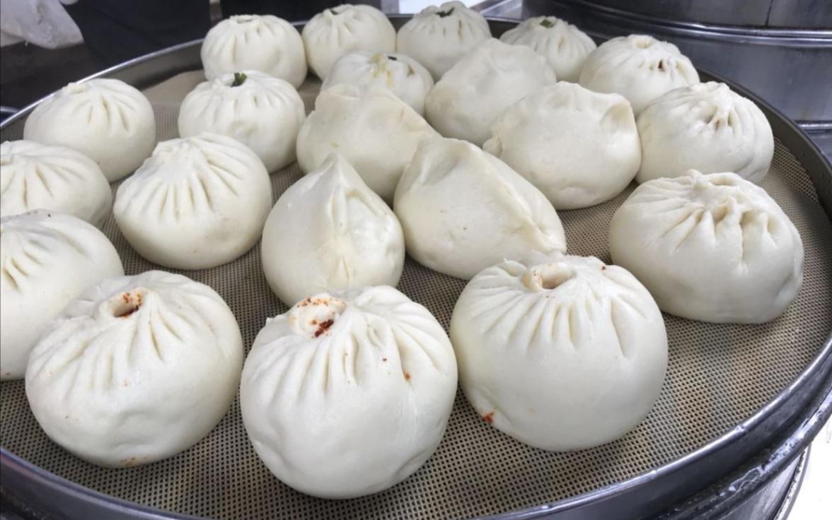"""天津人爱吃包子,到西安记得尝尝""""渭南时辰包子"""""""