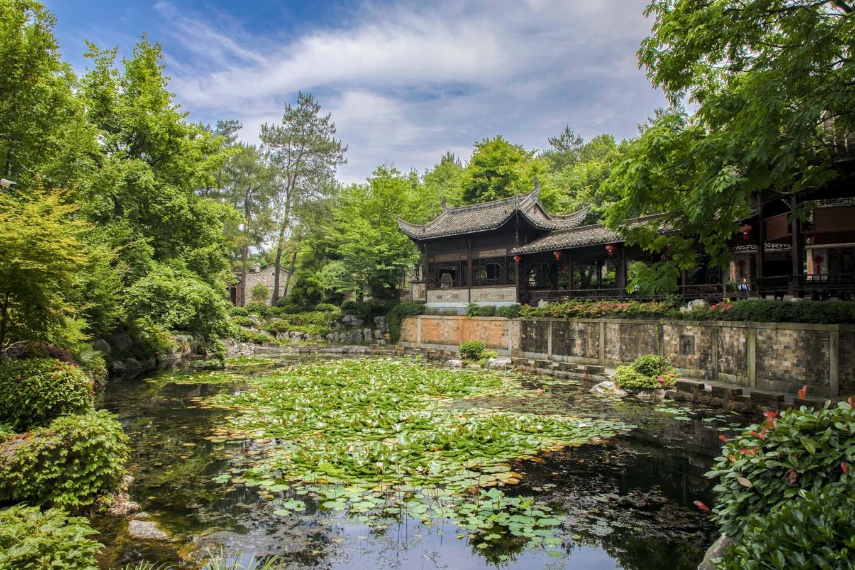 铜陵永泉旅游度假区,这里拥有世外桃源般的江南园林景象
