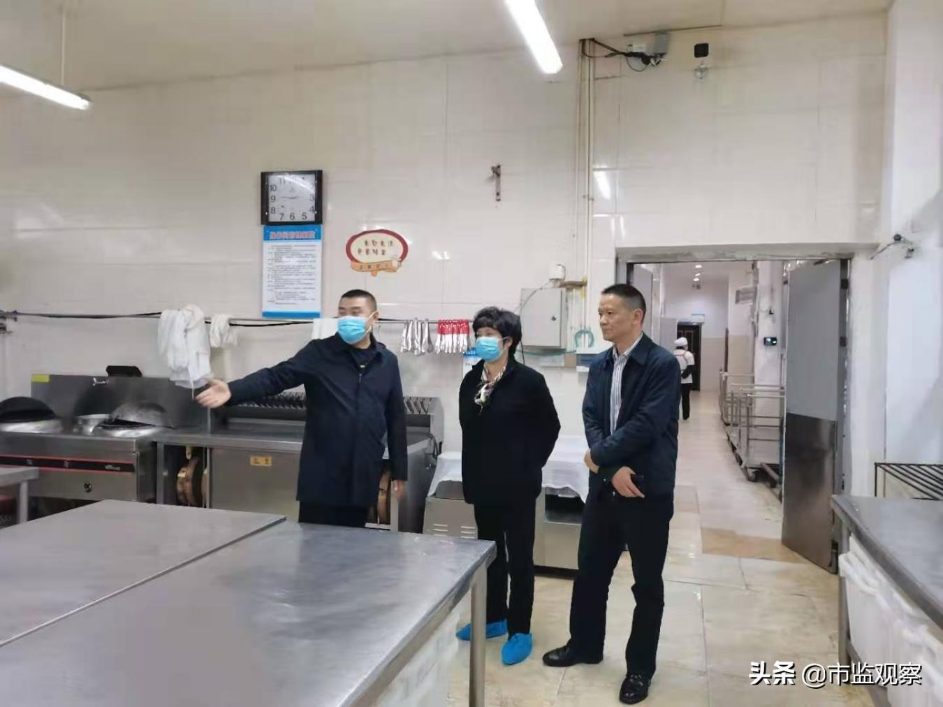 四川省市场监管局检查巴州区食品安全监管工作