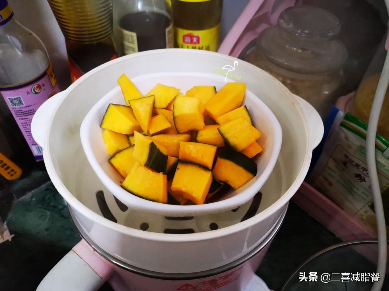 """减脂午餐68:藜麦南瓜饭,被称为""""黄金食物""""的藜麦好在哪里? 减肥菜谱做法 第5张"""