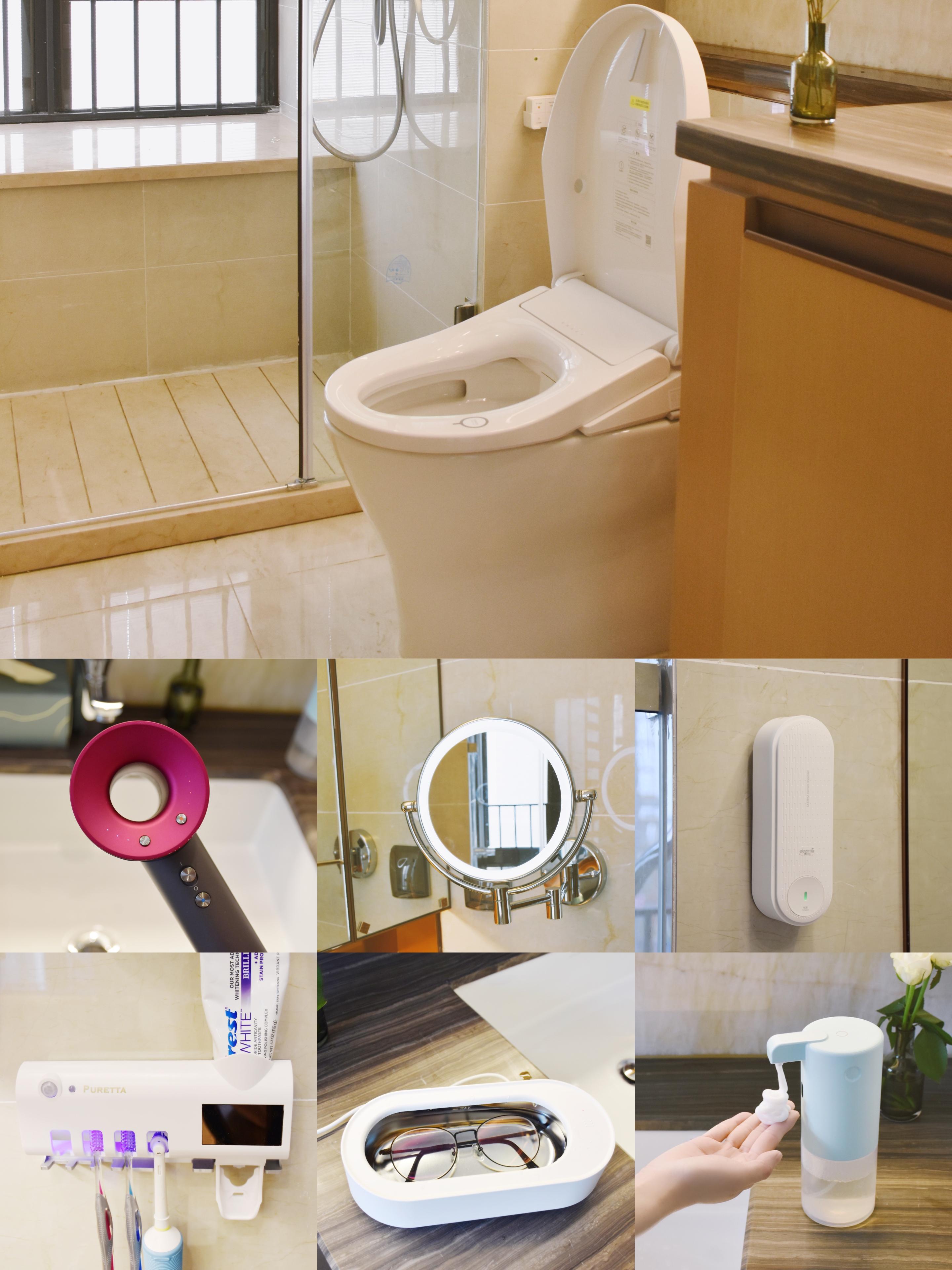 房子装修,7件实用的卫生间好物,提升生活幸福感