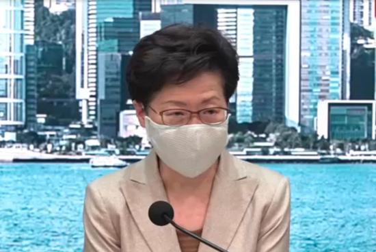外媒:特朗普政府宣布制裁林郑等多名中国内地及香港特区政府官员