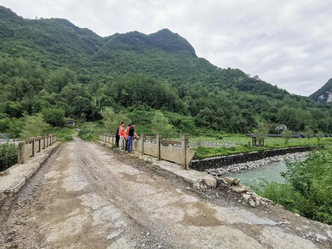 重庆地勘局208地质队巫溪县驻守队员成功预警两起地灾险情