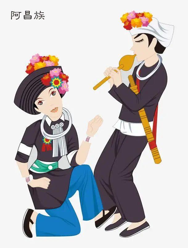 中国56个民族(三十八),阿昌族