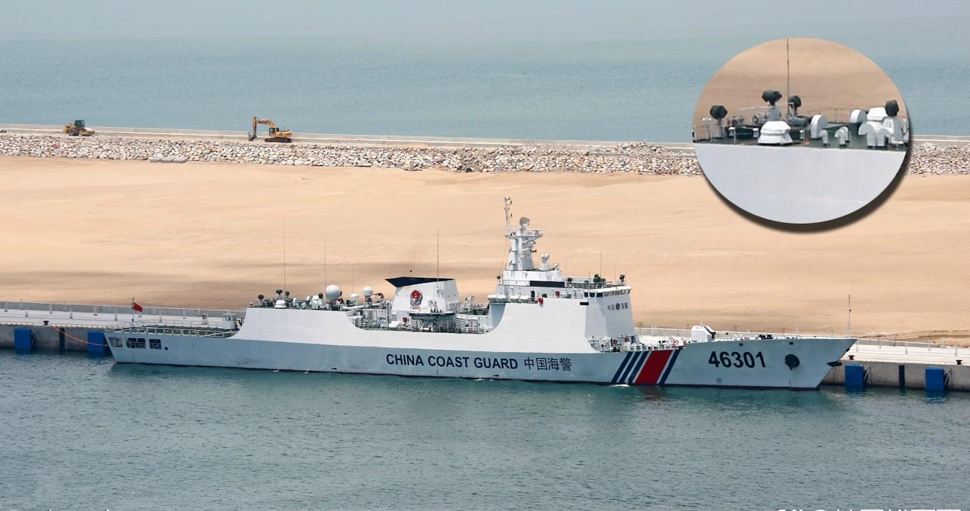 美軍艦屢次強闖南海?我方卻隻能驅離,海警急需七千噸級別碰瓷船