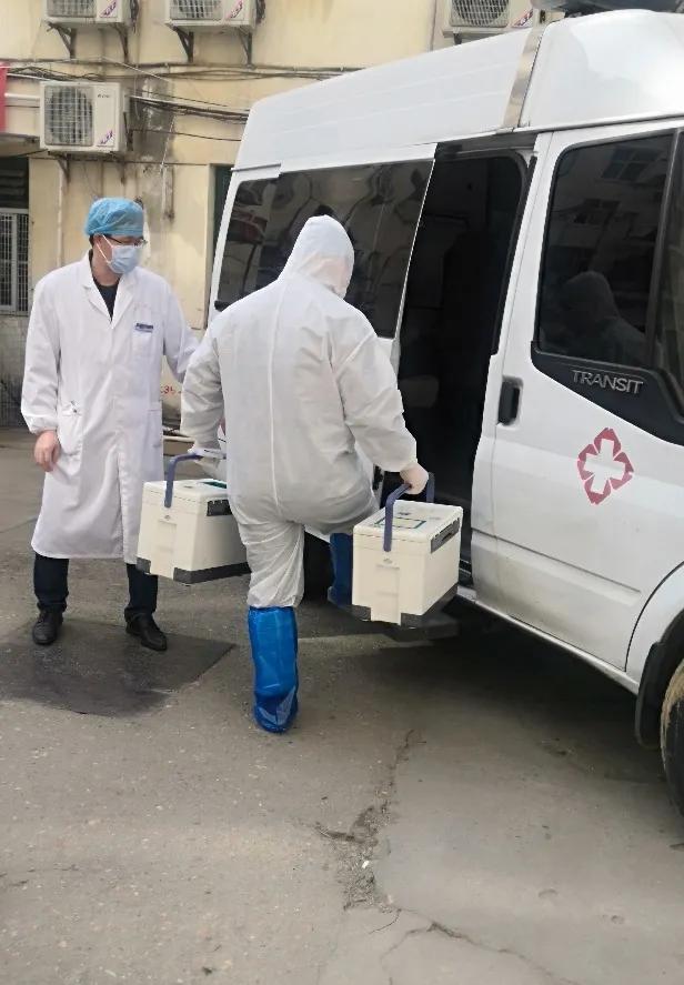 江西省胸科医院开展赣通码核酸检测登记平台使用和采样演练