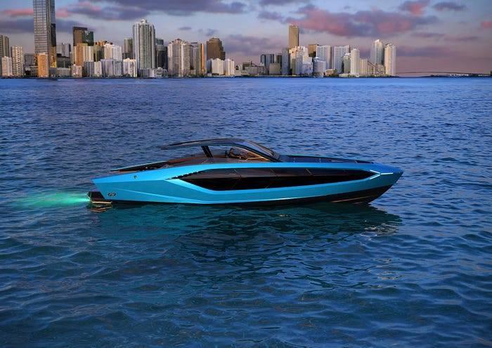 嘴炮订购限量款兰博基尼游艇,价值270万英镑,号称海上超跑