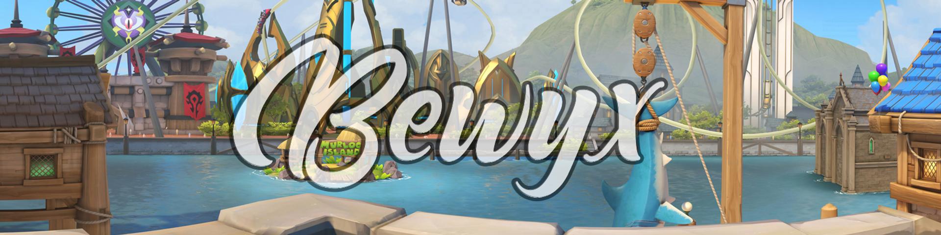 Bewyx画师3d动画同人视频合集