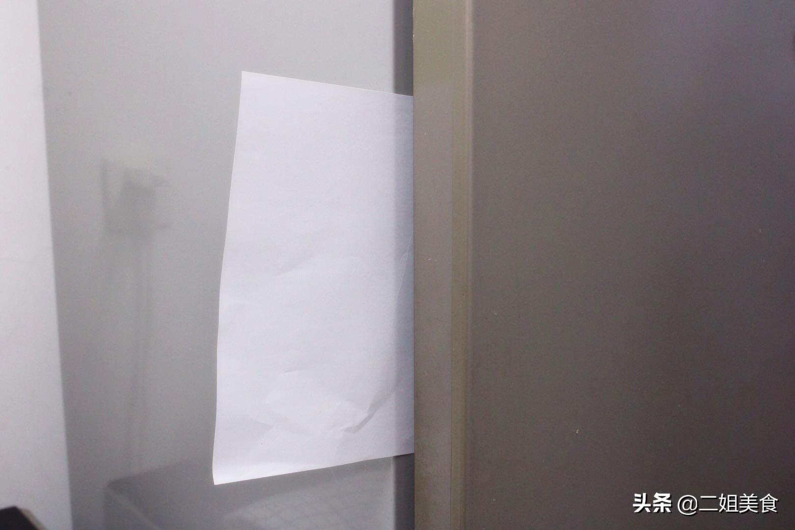 保存食物的冰箱裡放一張紙,太聰明了,用途花錢買不到,真實用