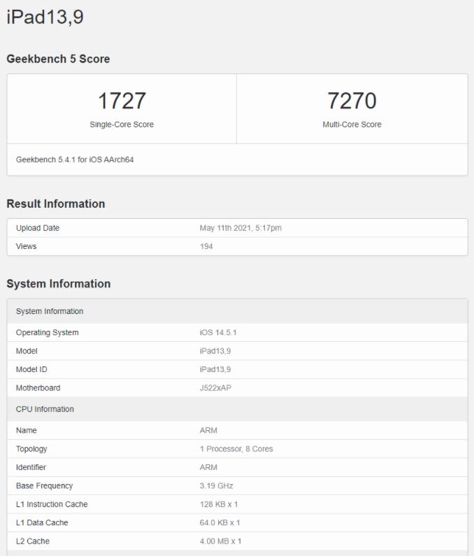 新款iPad Pro跑分曝光,成績驚人丨聯想平板真機上手