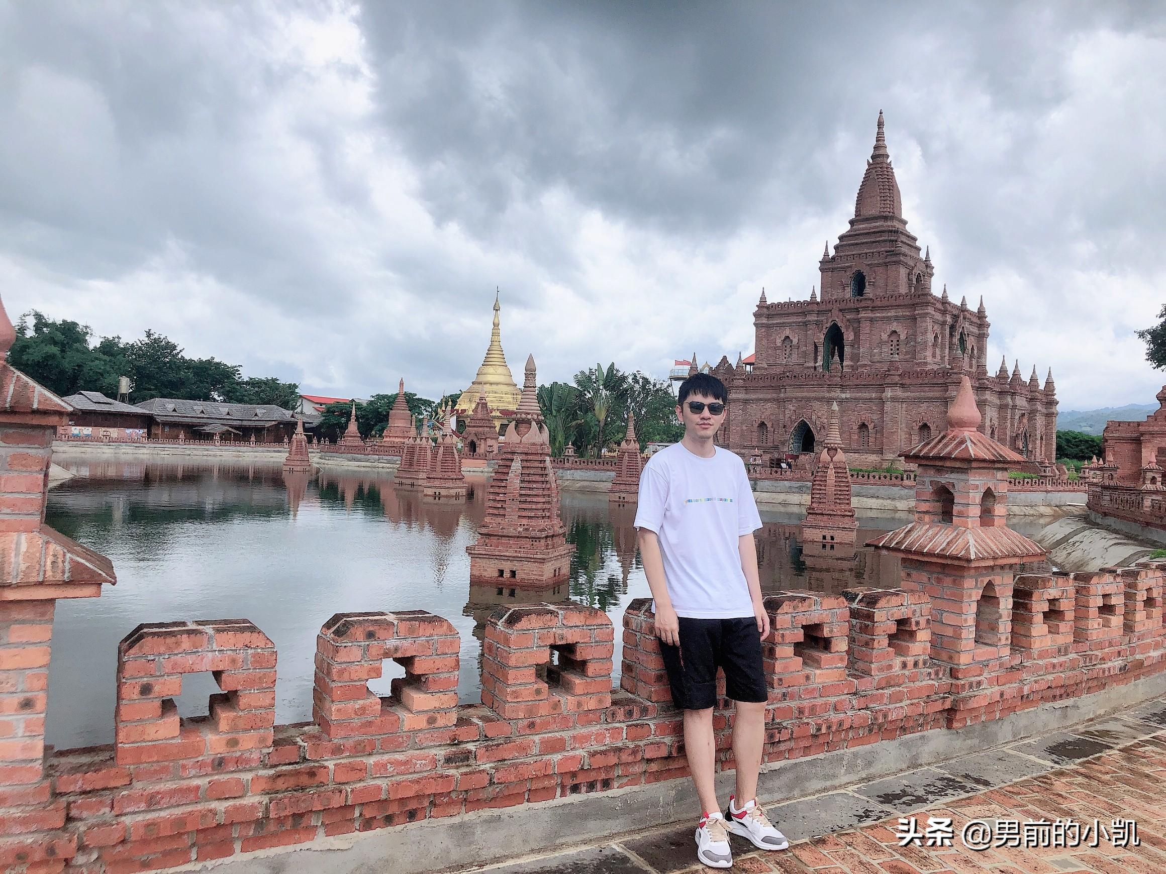六张图看完瑞丽的中国缅甸边境,出国很容易